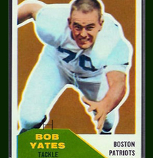 2012 Inductee Bob Yates (photo courtesy Topps)